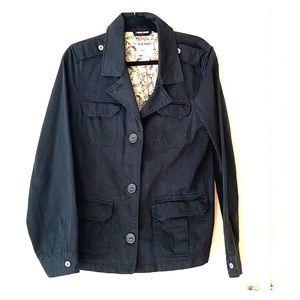 Old navy black short  trench coat